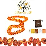 Baltic Amber Teething Necklace - reduces teething
