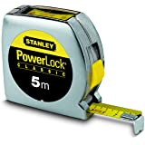 Stanley 0-33-932 Mesure 5 m x 19 mm Powerlock lecture directe