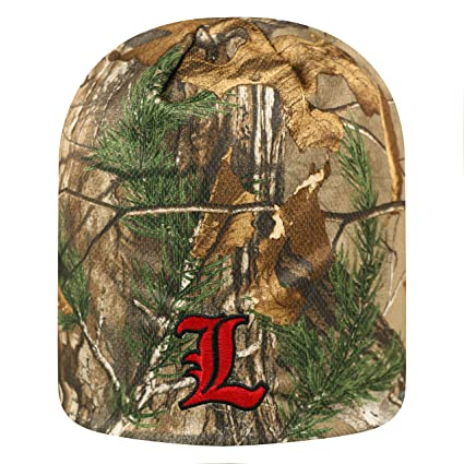 new arrival 7ad92 d971b Louisville Cardinals Cuffless  quot Forage quot  Realtree Camo Skull Cap -  NCAA Camouflage ...