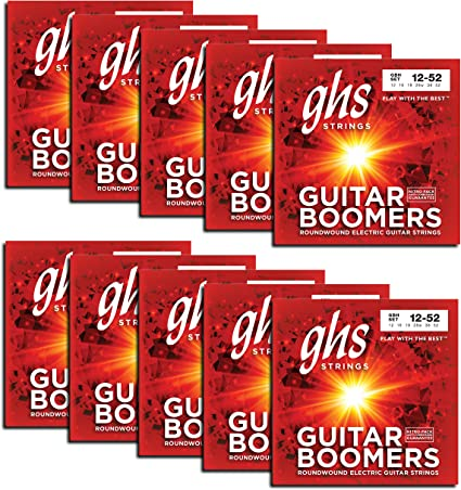 GHS Strings cuerdas para guitarra eléctrica (GBH-10 SET): Amazon ...