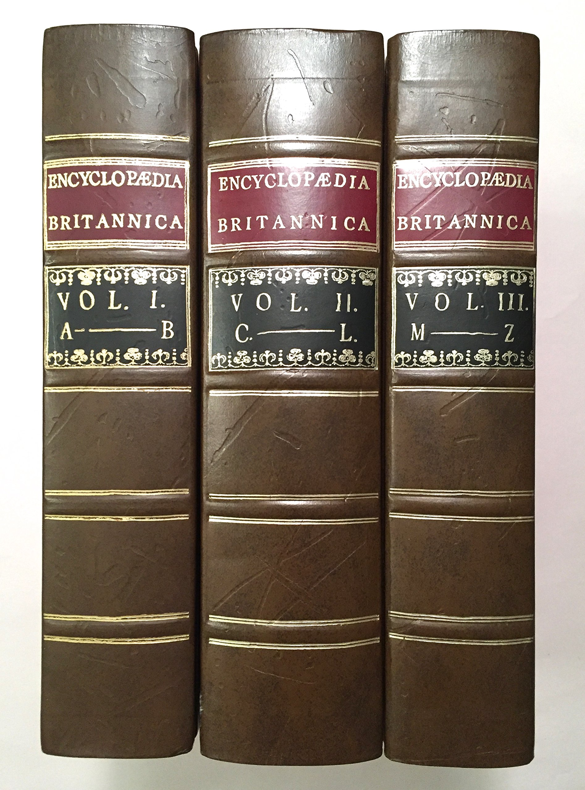 First Edition of the Encyclopedia Britannica, 1768-1771