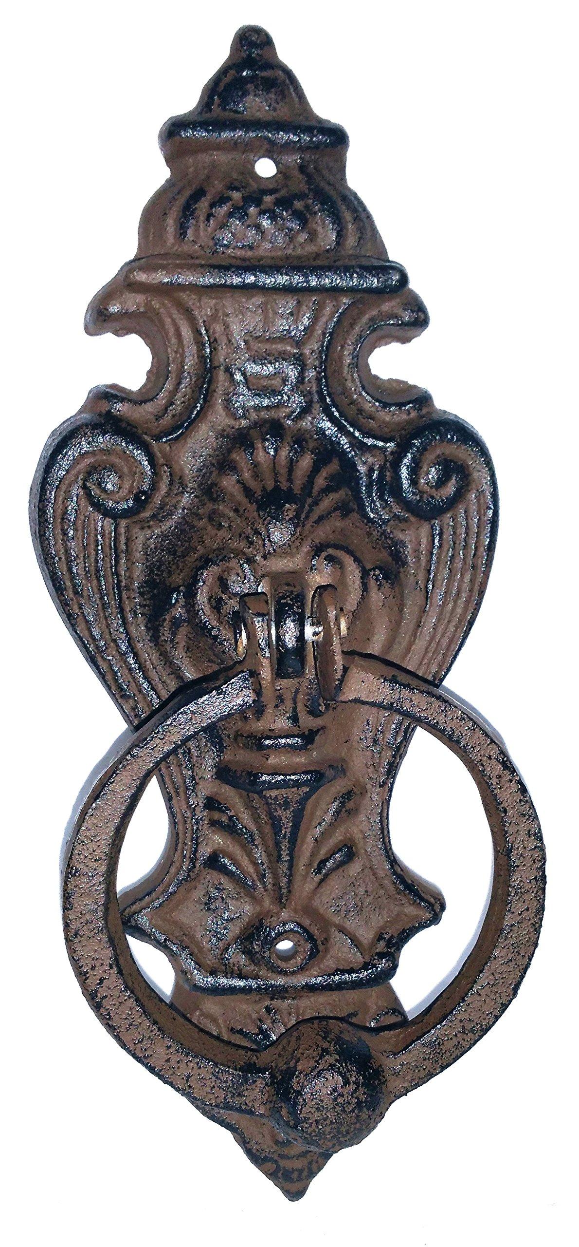 Castle Door Knocker - Solid Cast Iron