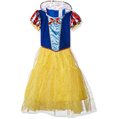 Deluxe Disney Princess Snow White Costume, One Color, Small/4-6X: Toys & Games
