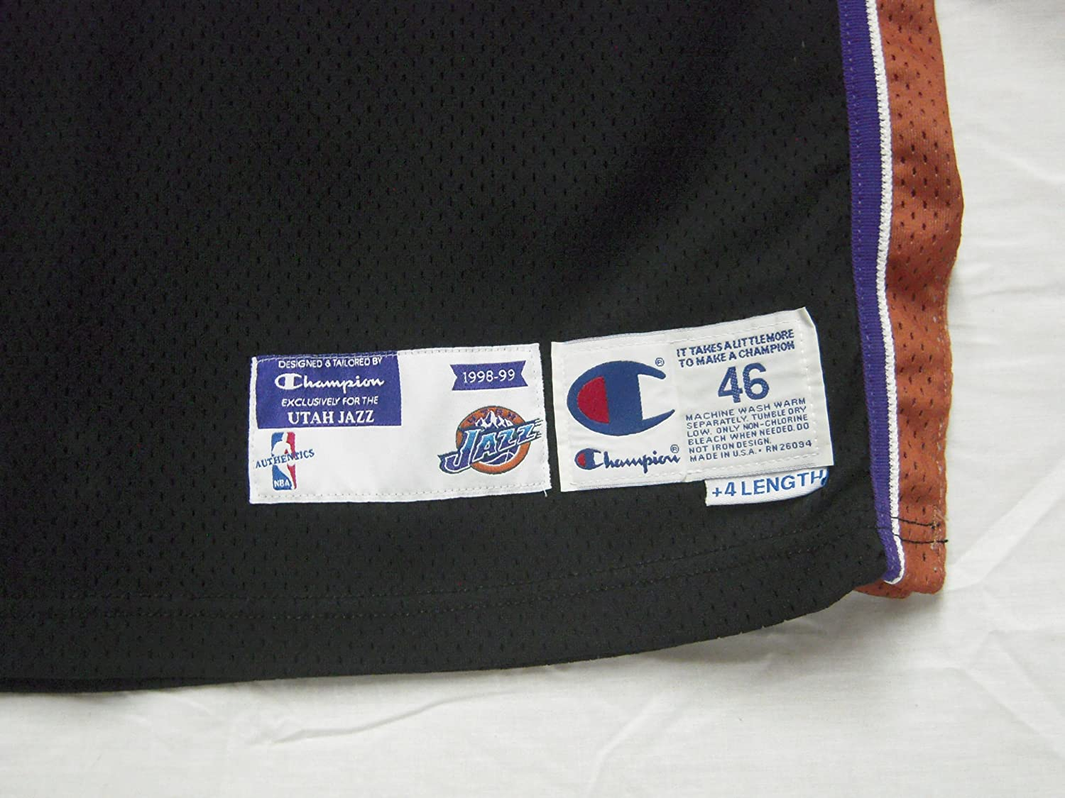 7cfb26843676 1998-99 Utah Jazz  40 Shandon Anderson Game Worn Jersey at Amazon s Sports  Collectibles Store