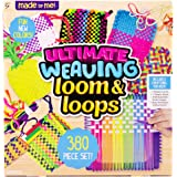 Made By Me Ultimate Weaving Loom by Horizon Group Usa, Includes Over 380 Craft Loops & 1 Weaving Loom (Amazon Exclusive…