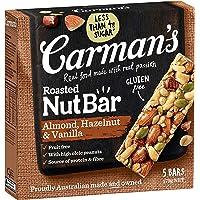 Carman's Nut Bar Almond, Hazelnut & Vanilla, 5-Pack (175g)