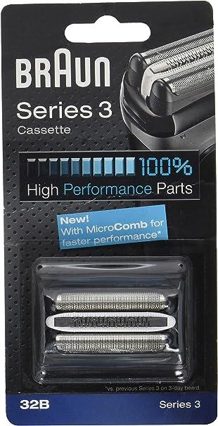 Braun Casette 32 B - Láminas de recambio + portacuchillas para ...