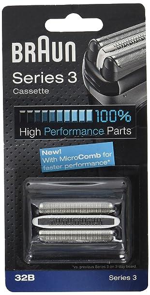 Braun 32B Replacement Foil Multi Silver BLS Cassette  Amazon.co.uk  Health    Personal Care 9f1f94c9a28d