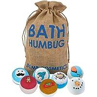 Bomb Cosmetics Bath Humbug Handgemaakte Hessische zak Bath Blaster Bath Bomb geschenkverpakking, voor hem [bevat 7-delig…
