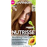 Deep Light Golden Brown (Toffee Nut) 630 : Garnier Nutrisse Ultra Coverage Hair Color, Deep Light Golden Brown (Toffee Nut) 630 (Packaging May Vary)