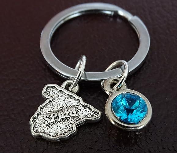 Amazon.com  Spain Keychain e26a7ae810