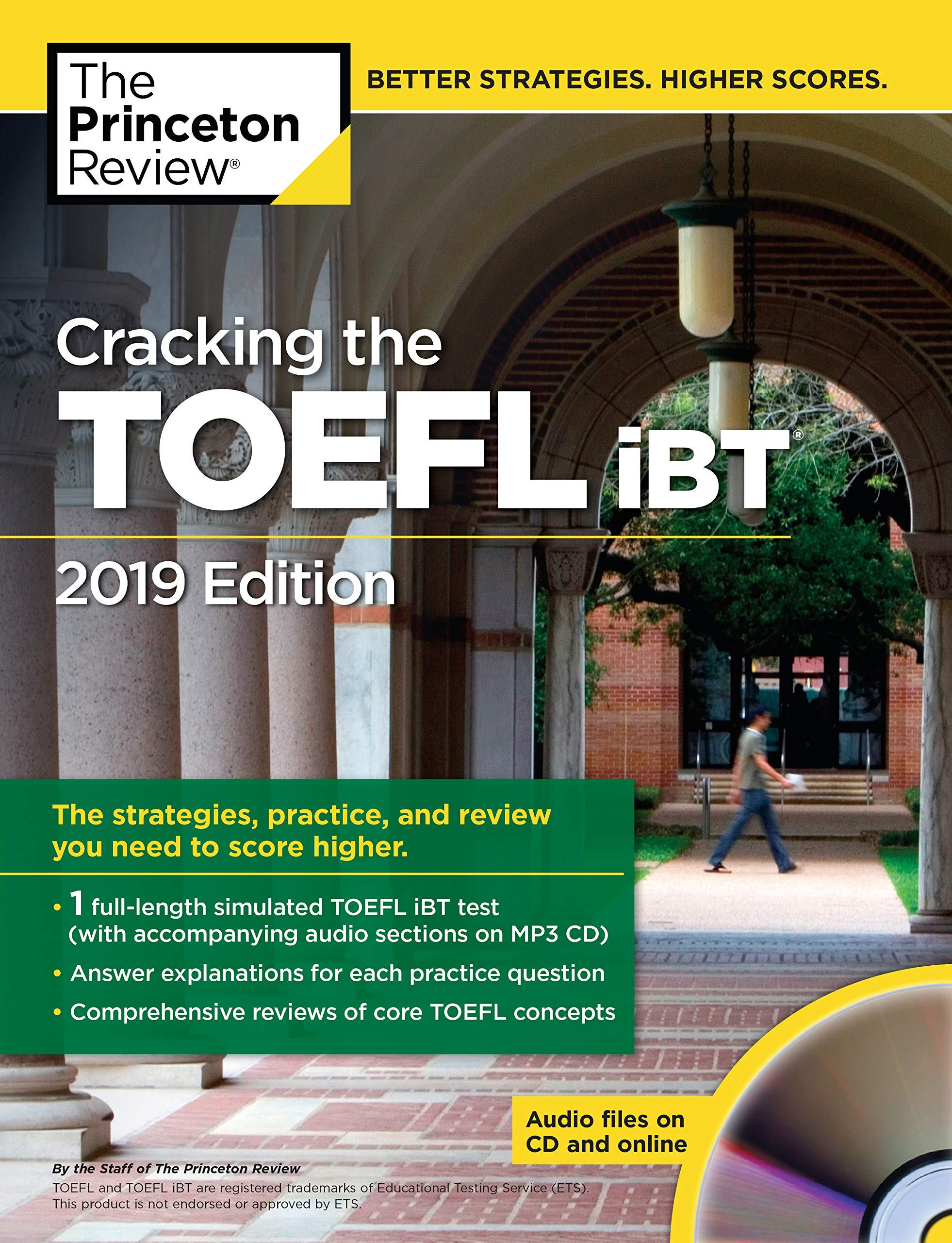 Cracking the TOEFL iBT with Audio CD, 2019 Edition (College Test Preparation)