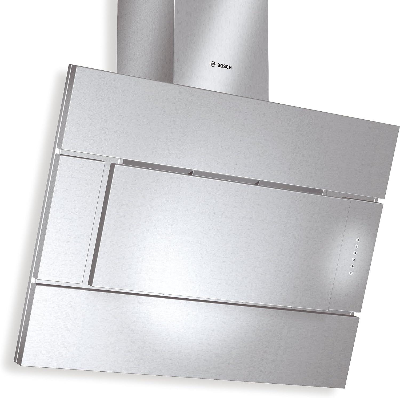 Bosch DWK096652 - Campana (670 m³/h, Canalizado/Recirculación, 70 dB, De pared, Plata, 20 W): Amazon.es: Hogar