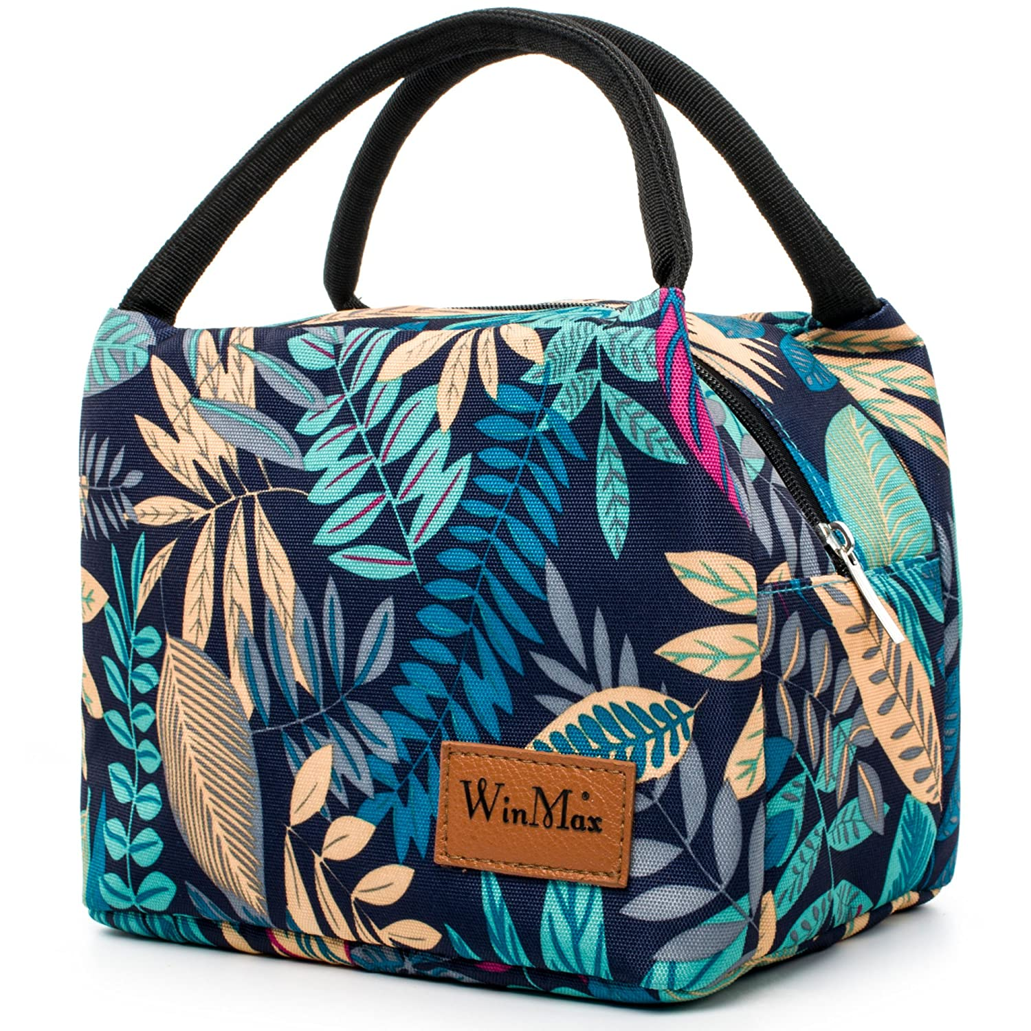 Lunch Bag Cute Lunch Box for Women Insulated Lunch Tote Bag for Kids  Travel/Work/School To-Go Food Containers Waterproof and No Leak