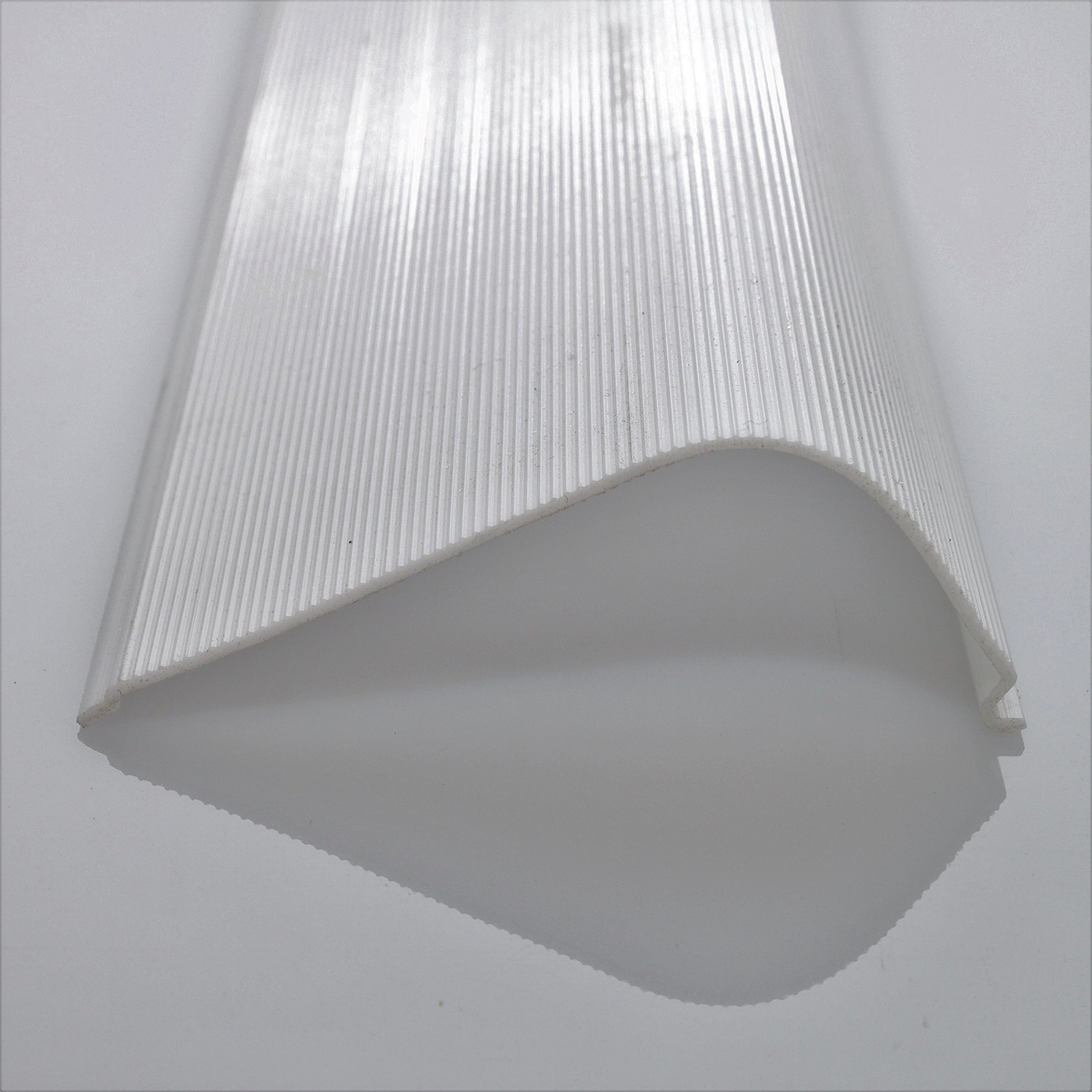 47-7/8'' Under Cabinet Lens Diffuser White Ribbed Replacement Cover (Please Check The Size Is Correct Before Ordering)