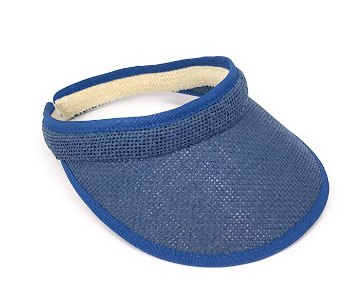 Markenlos - Visera - para mujer azul vaquero  Amazon.es  Ropa y ... 57da55899aa