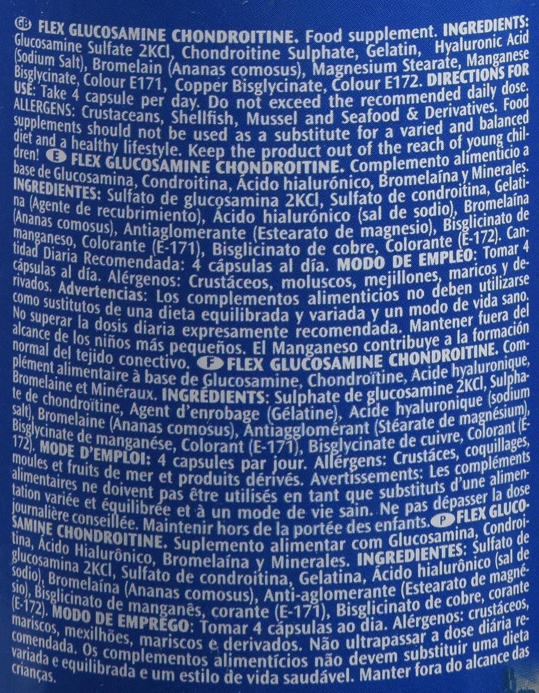 Victory Endurance Flex y Glucosamine Chondroitine - 90 Cápsulas: Amazon.es: Salud y cuidado personal