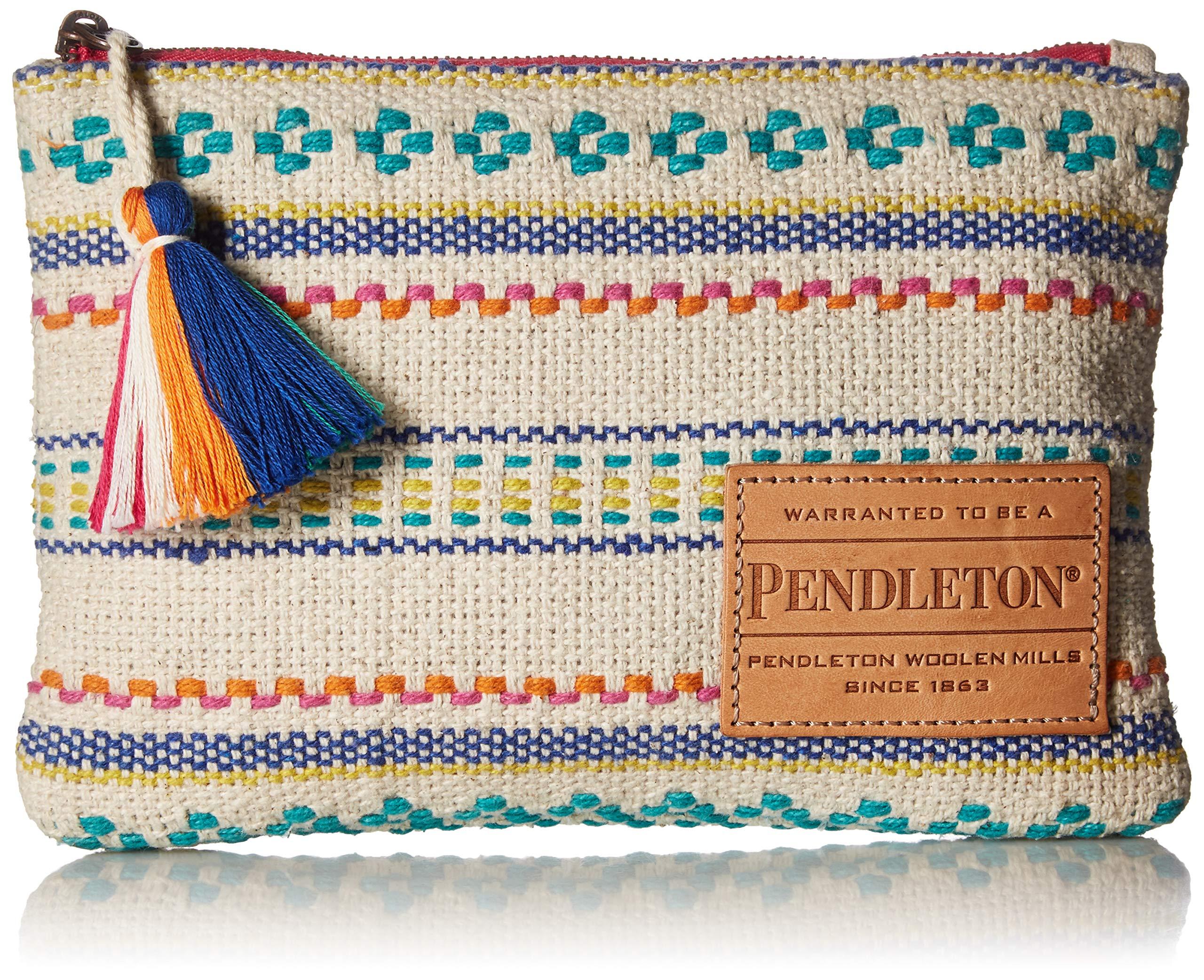 Pendleton Women's Paloma Stripe Zip Pouch, Bright, One Size by Pendleton