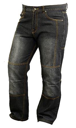 Moto Jeans Forrados en Kevlar con armaduras Resistentes a la ...