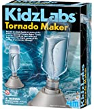 4M 5554 KidzLabs Tornado Maker Science Kit, DIY Weather Cyclone, Typhoon, Hurricane Weather - STEM Toys Educational Gift…