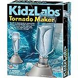 4M 5554 KidzLabs Tornado Maker Science Kit, DIY Weather Cyclone, Typhoon, Hurricane Weather - STEM Toys Educational Gift for