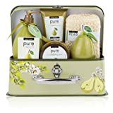 Amazon Price History for:One Day Sale!! Spa in a Basket. Deluxe Gift Set for Women (Fresh Pear)