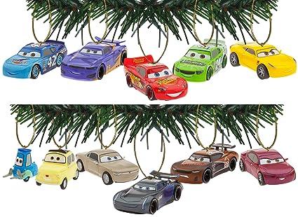 Disney/Pixar Cars 3 Holiday Ornaments Set Of 11
