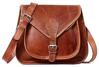fee1f7620598 LA BESACE cuir couleur naturel sac à main style bohème PAUL MARIUS ...