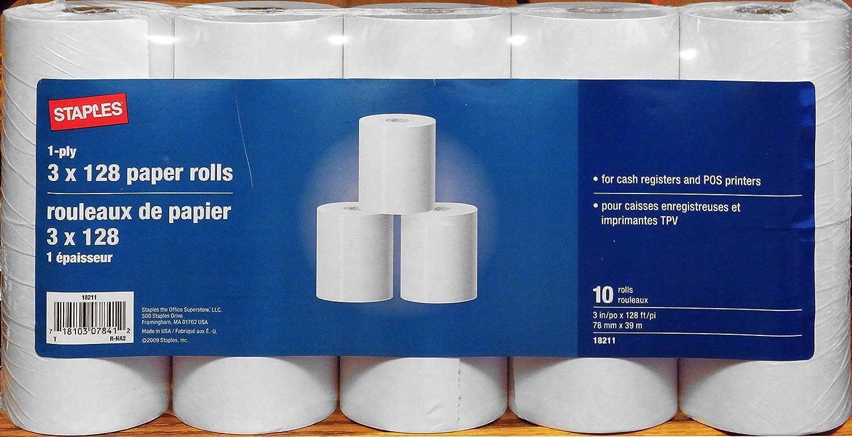 Amazon.com: Caja Registradora y punto de servicio papel para ...