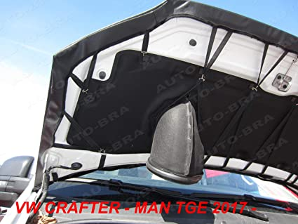 Man TGE since 2017 STONEGUARD PROTECTOR TUNING Bonnet Bra AB3-00431 CARBON FIBRE LOOK FULL compatible with Crafter