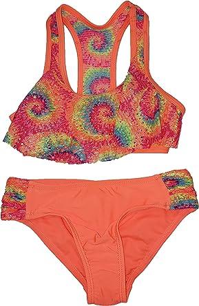 Bikini /& Tankini Wonder Nation Girls 3 pc Swimsuit