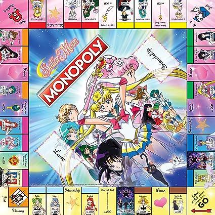Sailor Moon Monopoly Board Game Juego de Mesa - Ingles: Amazon.es: Juguetes y juegos