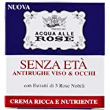 Roberts Acqua alle Rose Crema senza Età, Antirughe Viso e Occhi - 50 ml