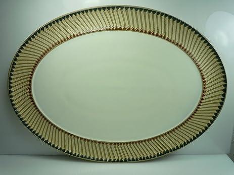 Amazon.com | Denby Luxor Oval Platter 14\