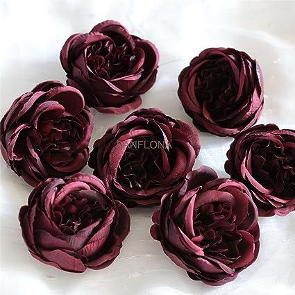 Amazon fanflona silk flowers in bulk wholesale 60 flower heads fanflona silk flowers in bulk wholesale 60 flower heads silk tea rose artificial peony flower heads mightylinksfo