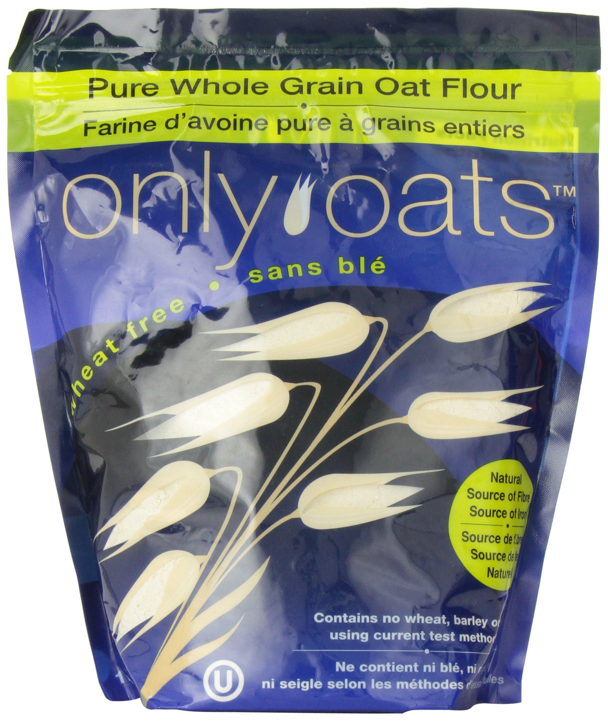 ONLY OATS Pure Whole Grain Oat Flour, 1 Kilogram