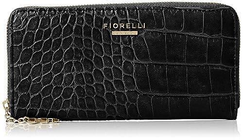 78f0dc59b4 Fiorelli Women s City Wallet Black (black Croc)  Amazon.co.uk  Shoes ...