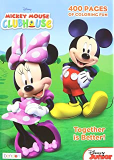 mickey mouse clubhouse gigantic coloring book 400 pages - Mickey Mouse Coloring Books