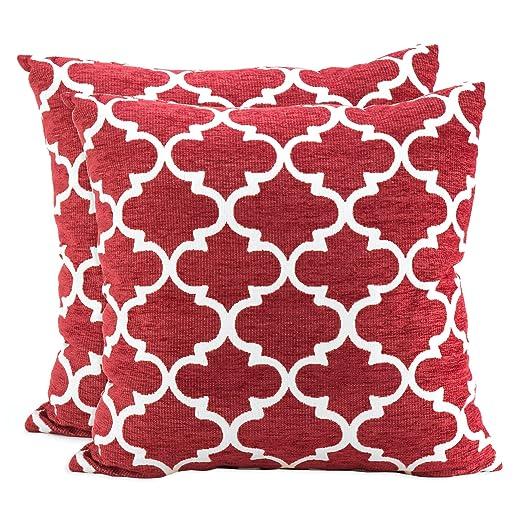 Amazon Spencer Home Decor Club Lattice Decorative Pillow Set Of Stunning Spencer Home Decor Tweets Bird Throw Pillow