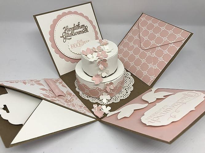 Explosionsbox Zur Hochzeit Geschenk Geschenkverpackung Heirat