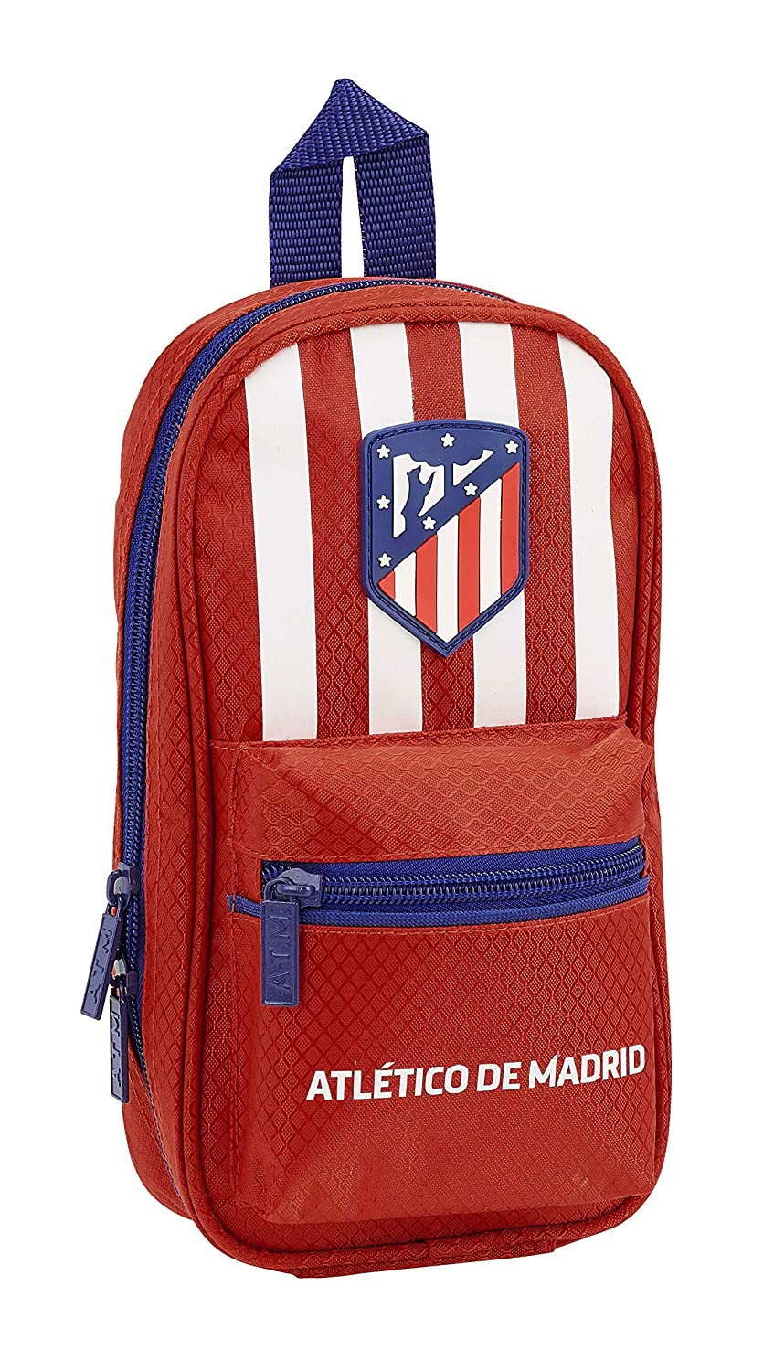 Amazon.com: Atletico De Madrid 2018 Make-Up Pouch, 23 cm ...