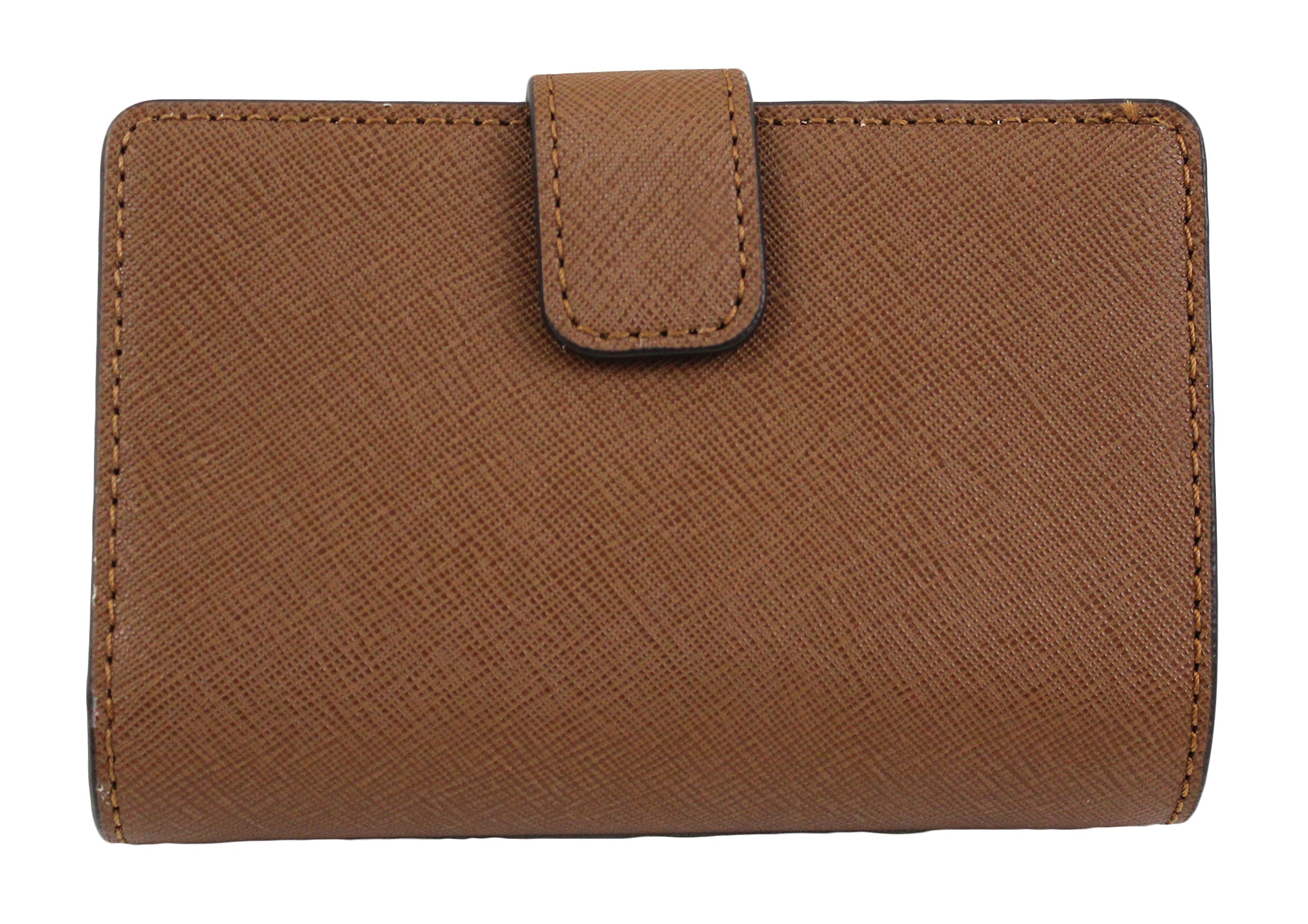 MICHAEL Michael Kors Jet Set Travel Bifold Zip Coin Wallet (Luggage) by Michael Kors (Image #2)
