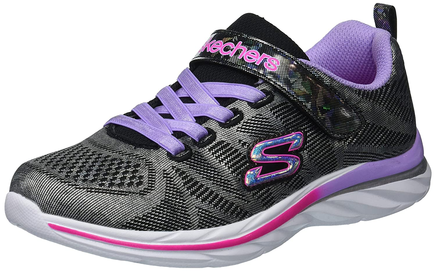 Skechers Kids Quick Kicks-Shimmer Dance Sneaker