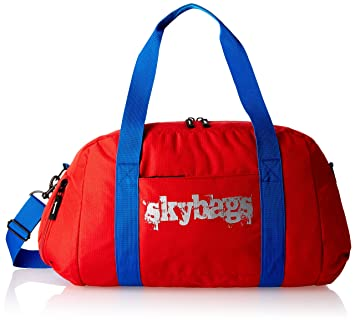 Skybags Fabric Red Gym Bag FSGRIBRED