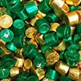 ROLO Holiday Chewy Caramels Milk Chocolate Candy, In Green & Gold Foils 2.5 LB Bag