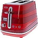 De'Longhi Toasters 2 Slice Toaster, Red, CTA2003R