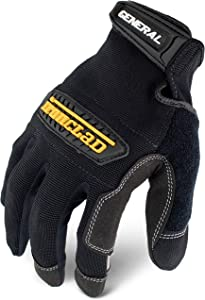 Ironclad General Utility Work Gloves GUG, All-Purpose, Performance Fit, Durable, Machine Washable, (1 Pair), Extra Small - GUG-01-XS