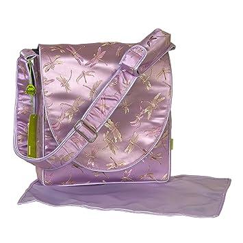 Amazon.com: I frogee Lavanda Libélula Brocade pañal bolsa ...