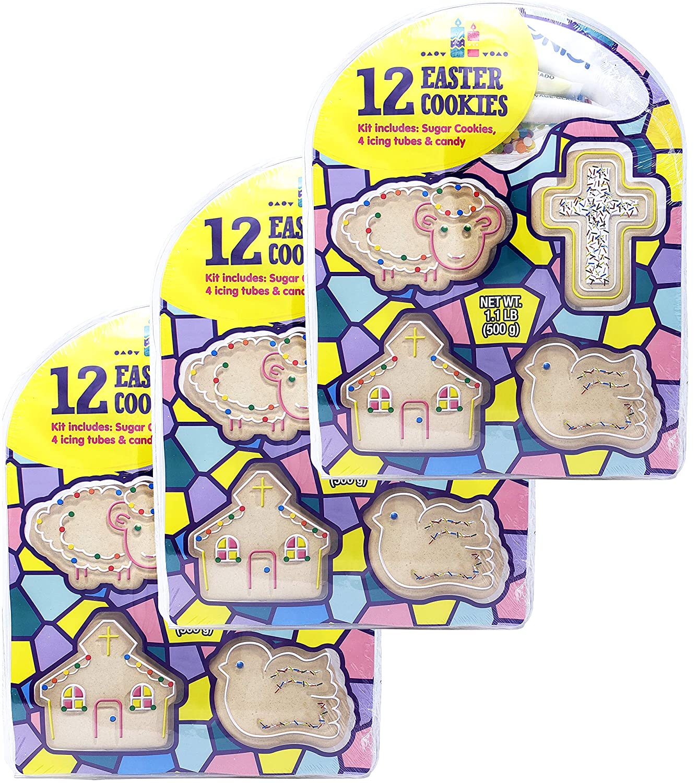 Amazon Com Christian Sugar Cookie Decorating Kit For Kids
