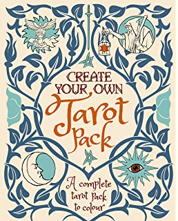 create your own tarot pack colouring books